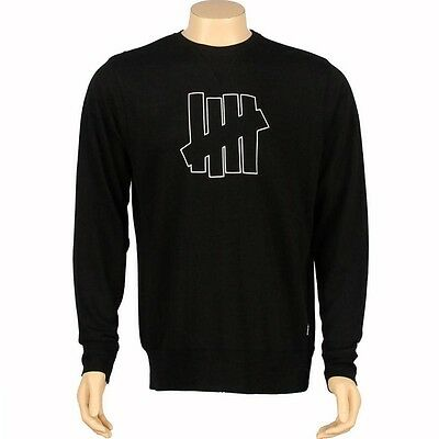 5018128RED red $71.99 Undefeated U And D 5 Strike Crewneck