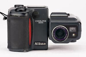 Nikon-Coolpix-995-fotocamera-digitale-con-zoom-Nikor-8-32mm-1-2-6-5-1-ottica-guasto