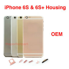 OEM Replacement Back Housing Battery Cover Frame Assembly For iPhone 6S 6S Plus