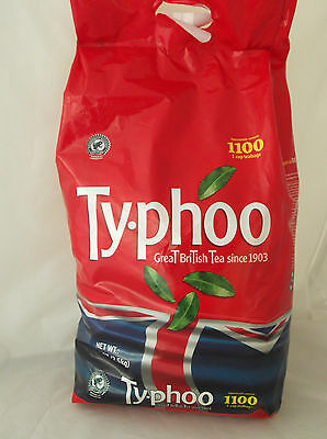 TYPHOO 1100 2.5KG ONE CUP ORIGINAL ENGLISH TEA BAGS  NEW