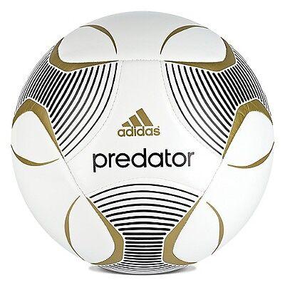 creer Robar a mano  adidas UE League Predator Capitano 2012 Soccer BALL White - Gold Brand New  | eBay