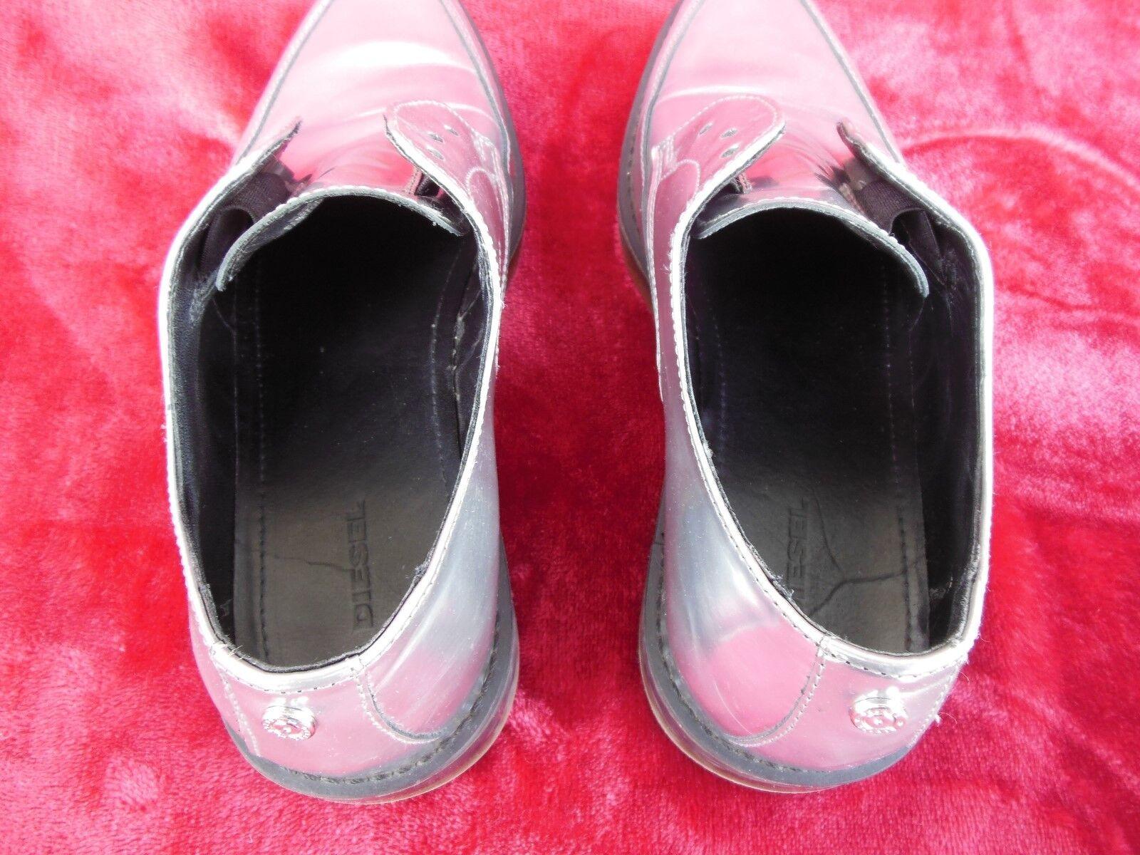 Diesel Damens UK 39 Schuhe US 8.5 Silver Point Toe Schuhe 39 Oxford 577bd0