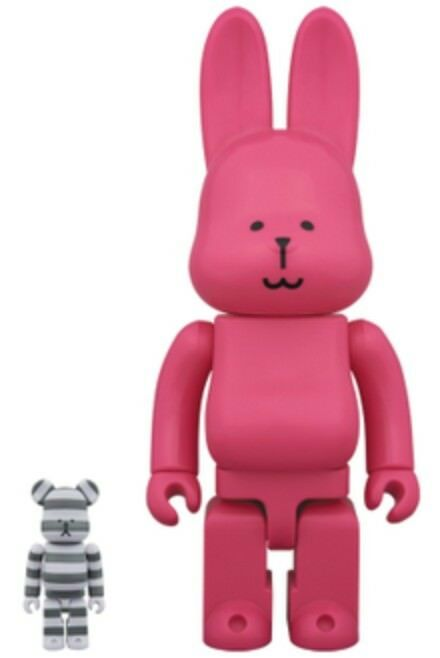 Medicom Toy CRAFTHOLIC BE@RBRICK 100% & R@BBRICK 400% Figure Toy 2pcs set Japan