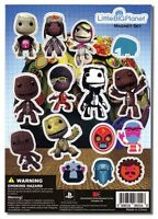 Littlebigplanet: Cutout Characters Magnet Sheet By Ge Animation