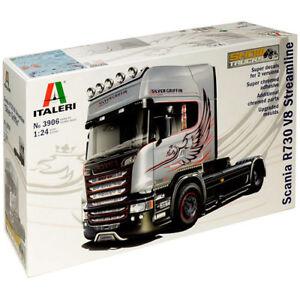 Italeri Scania R730 Streamline 4x2 3906 Kit de modèle de camion 1:24