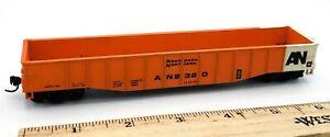HO-Scale-Model-Train-AN-2320-Anaconda-Northern-Orange-Gondola-Model