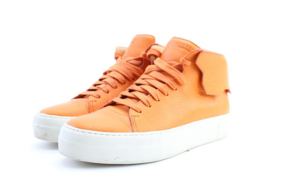 Buscemi arancia 90mm Mid scarpe da ginnastica scarpe da ginnastica 21mr0212