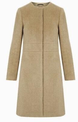 Ex Branded Camel Imelda Coat Jacket Size 6-16