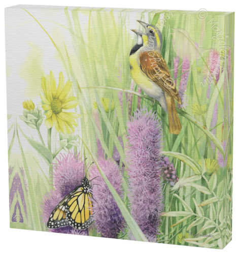 Marjolein Bastin A Prairie Song 12 x 12 Gallery Wrapped Canvas