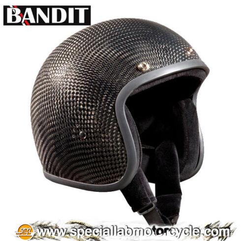Casco Bandit Jet Carbon Cafè Racer