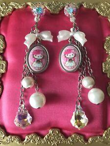 02a5c8083 Image is loading Tarina-Tarantino-Pink-Head-Bridal-Collection-Hello-Kitty-