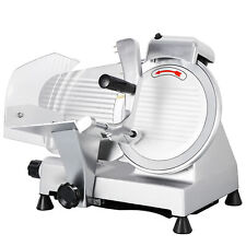 Commercial 10 Blade Deli Meat Slicer 240w 530rpm Food Cheese Electric Slicer