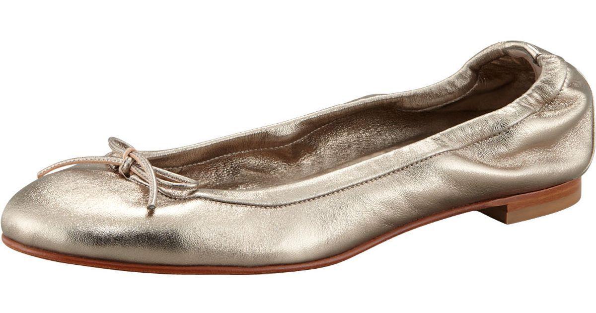 Al por menor  550 Manolo Manolo Manolo Blahnik Platino Zapatos Ballerina Zapatos de Tacón Cuero Talle 36.5 6.5  Ahorre hasta un 70% de descuento.