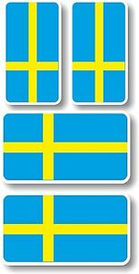 Vinyl stickerdecal Extra small 45mm amp 35mm Sweden flags  group of 4 - Gilberdyke, United Kingdom - Vinyl stickerdecal Extra small 45mm amp 35mm Sweden flags  group of 4 - Gilberdyke, United Kingdom
