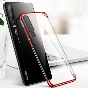 For-Huawei-P30-Pro-P20-Lite-P-Smart-2019-Plating-Silicone-Slim-Clear-Case-Cover