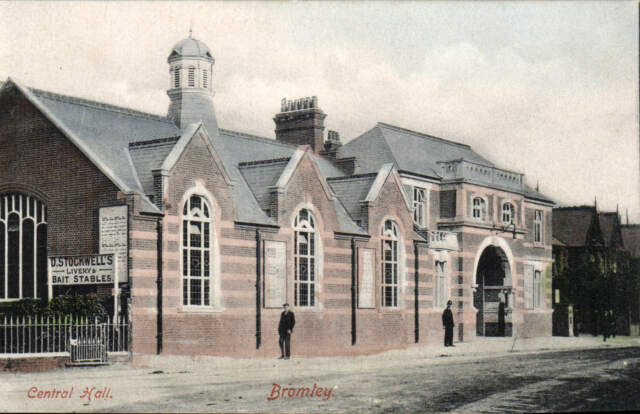 Bromley. Central Hall in Earle Series.