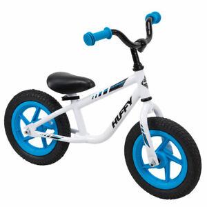Huffy Balance Bikes Kids 12-inch Lil Cruzer, White or Yellow NEW