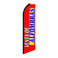 Venta De Alfombras - Standard Half Sleeve Swooper Banner Flag Only