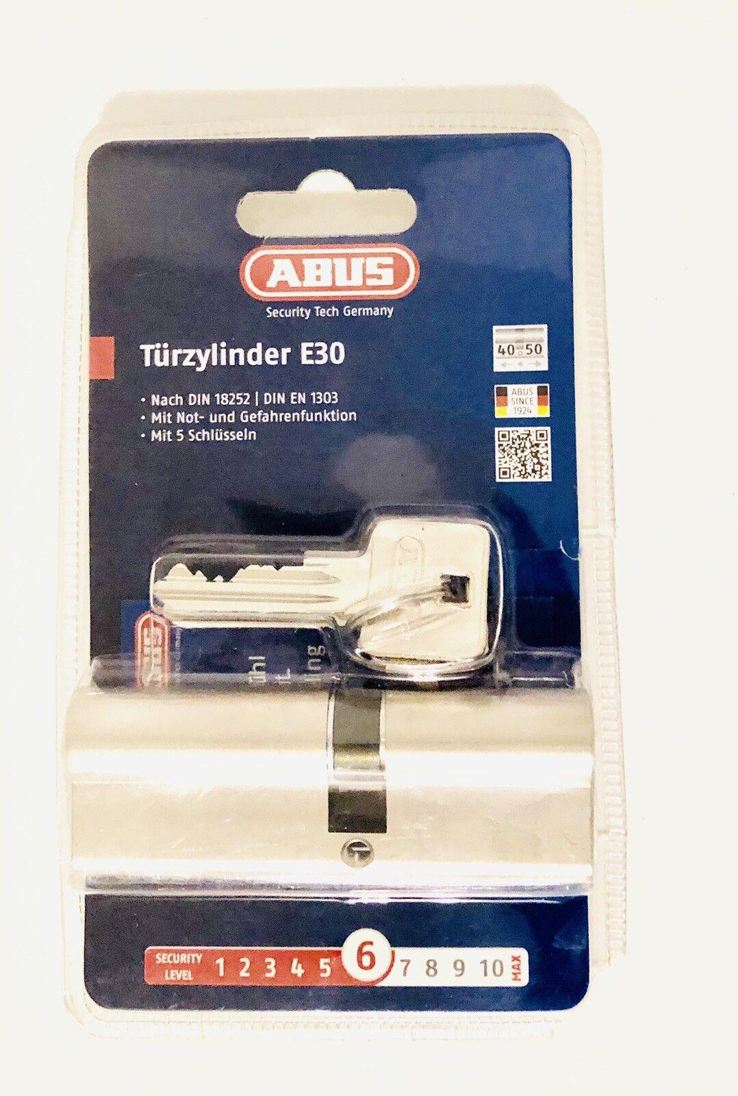 """ABUS Profilzylinder """"E30"""" 59818 59818 59818 Zylinder E30 40 50    Schöne Kunst    Moderate Kosten    Genialität    Haltbarkeit  891b04"""