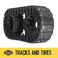 Bobcat 753 Hydramac Skid Steer Ott Rubber Over The Tire Tracks 10x26 10-16.5