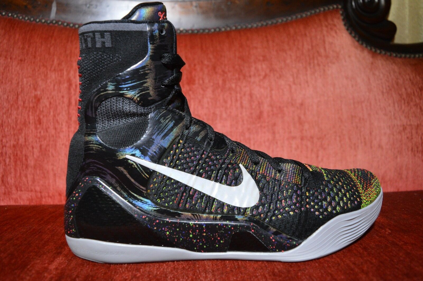 VNDS Nike Air Kobe 9 IX Elite Master Piece Multi color Sneakers Men's Size 11.5