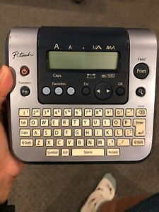 BROTHER P-TOUCH Model PT-1280 Thermal LABEL MAKER Printer ...