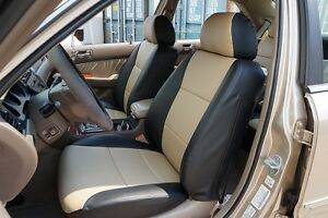 ACURA RL 1999-2004 IGGEE S.LEATHER CUSTOM FIT SEAT COVER ...