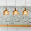 Modern Vintage Industrial Retro Loft Glass Ceiling Wall Lamp Shade Pendant Light