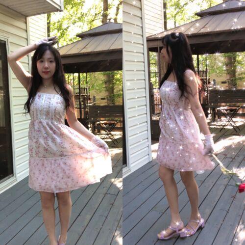 ✨VTG Gunne Sax Pink Style Calico Dress❤️ - image 1