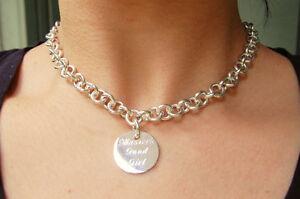 Bdsm chain mail collar