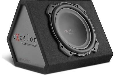 """300W RMS Power Kenwood eXcelon P-XW804B 8/"""" Subwoofer in Vented Enclosure"""