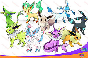 Les 9 Shiny 6iv Eeveelutions Pokemon Sun Amp Moon Eevee