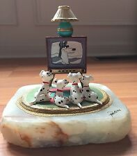 RARE Ron Lee DISNEY 101 DALMATIANS Limited Edition Figurine LE TV Buddies Signed