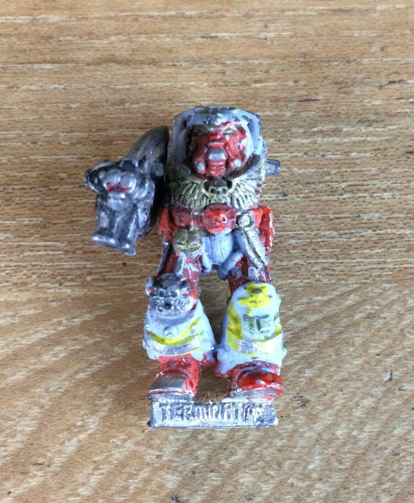 Warhammer 40k Space Marine Terminator bibliotecario 410512 1989 De De De Metal  Obtén lo ultimo