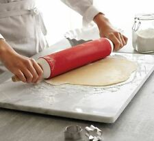 16x20 Large Kitchen Pastry Board, White Marble, Dough Rolling, Beautiful Decor
