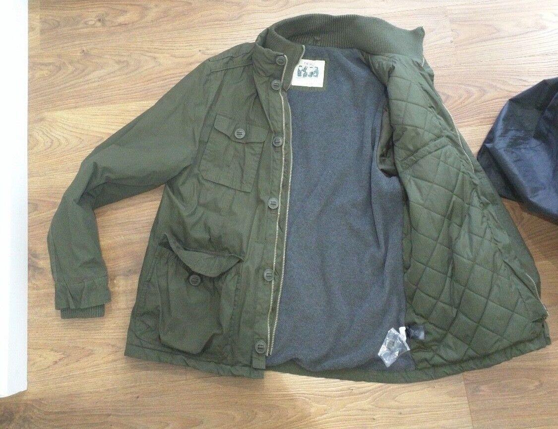 Men's Coat - Green - size XL - good condition