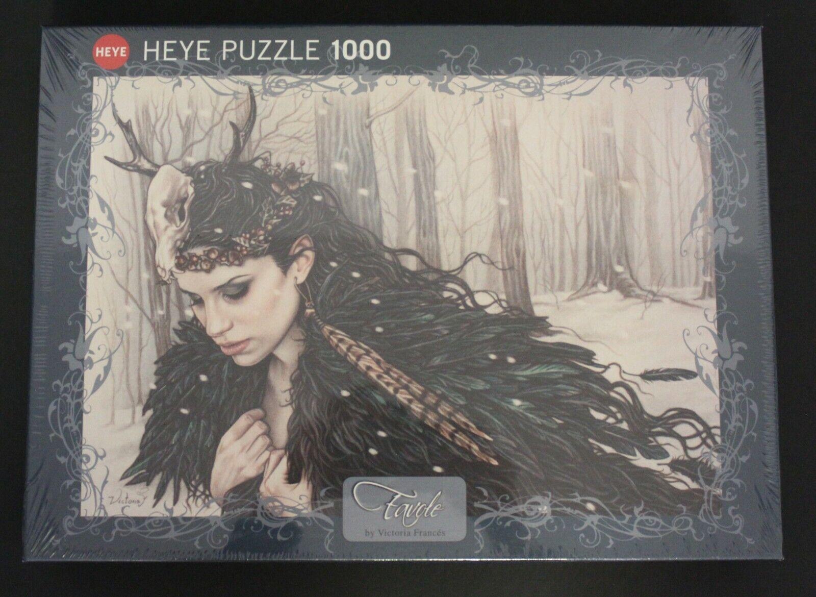 2013 Educa Favole series HORNED Puzzle by VICTORIA  FRANCES 1000 pcs SEALED VHTF  più economico