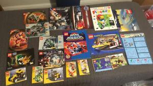 Bundle-Lego-instructions-books-magazines-1381-1354-6616-7311-7314-8470-more