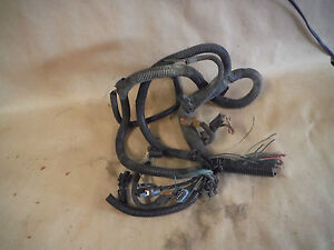 88 CHEVY VAN V8 305 ENGINE WIRING HARNESS PLUGS#551 | eBayeBay