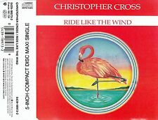 CHRISTOPHER CROSS : RIDE LIKE THE WIND / 3 TRACK-CD (WARNER BROS. 1992)