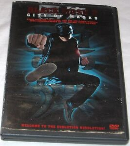 Negro-Mascara-2-Ciudad-de-Mascaras-DVD-2002-Andy-On-Accion-Aventura-U-S-A