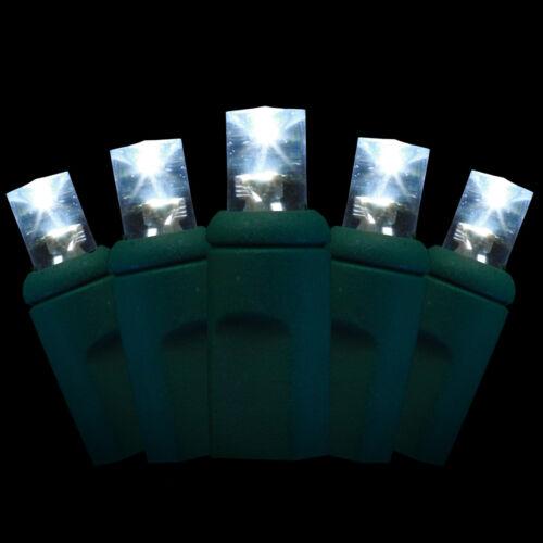 20 pure white leds 5mm wide-angle lenses 2 STRINGS LED Christmas Lights