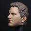 Custom 1//6 Scale Chris Pratt Head Sculpt pour Hot Toys corps Star Lord avec casque