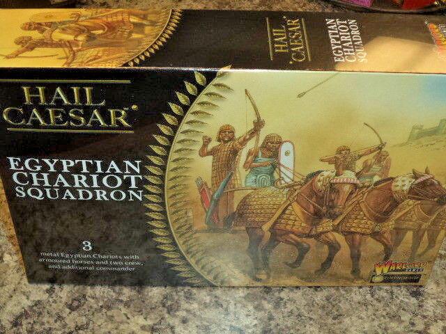 Ägyptisch Wagen Squadron Hail Caesar Krieg Spielen Warlord Games Modelle Neu