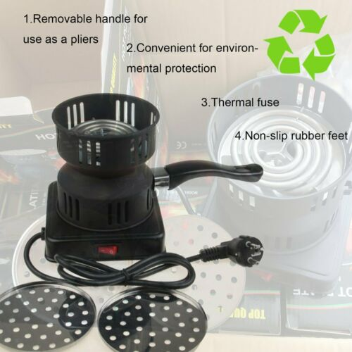 Tongs Thickened Charcoal Stove+/% Electric Charcoal Burner Removable Tray