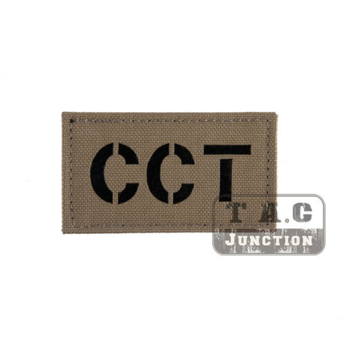 Tactical CCT Combat ID Patch Morale Patches Army Badge Armband Backpack Cap