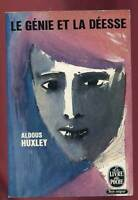 ALDOUS HUXLEY: LE GENIE DE LA DEESSE. LIVRE DE POCHE. 1963.