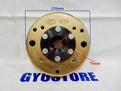 Acouto Magneto Flywheel Stator,6 Poles Magneto Flywheel Stator Fit for GY6 125cc 150cc Engine Quad Dirt Bike ATV Buggy