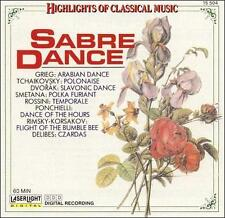 Sabre Dance: Highlights of Classical Music (CD, Oct-1990, Laserlight)