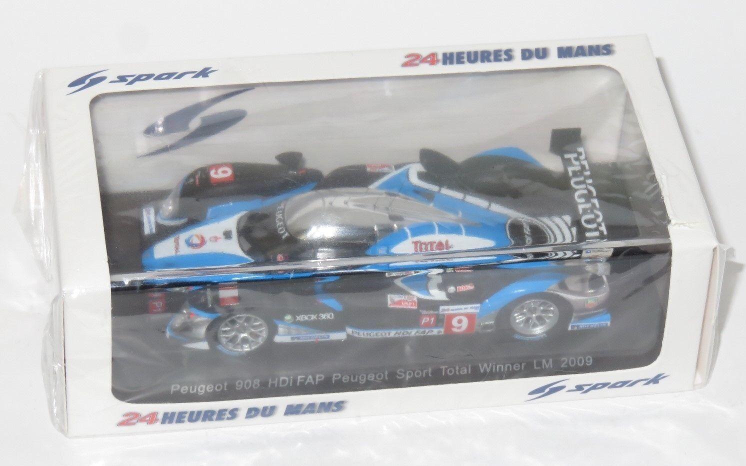 PEUGEOT 908 HDI FAP PEUGEOT SPORT TOTAL Winner Le Mans 24 ore 2009  9